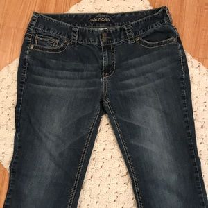 Maurice's Bootcut size 11/12 32x31 jeans stretch